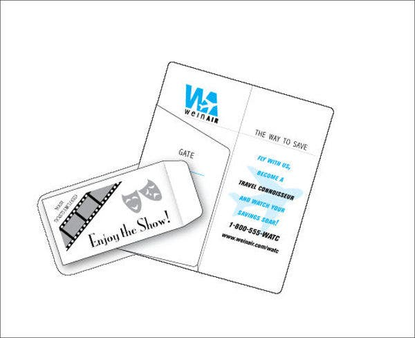 ticket-holder-envelope-template