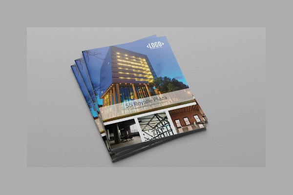 Indesign Corporate Real Estate Brochure
