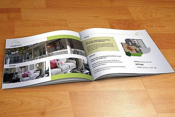 Corporate Real Estate Property Brochure