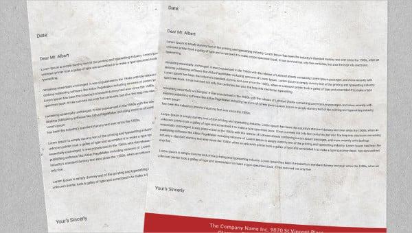 Carta de motivación para el formato de beca.