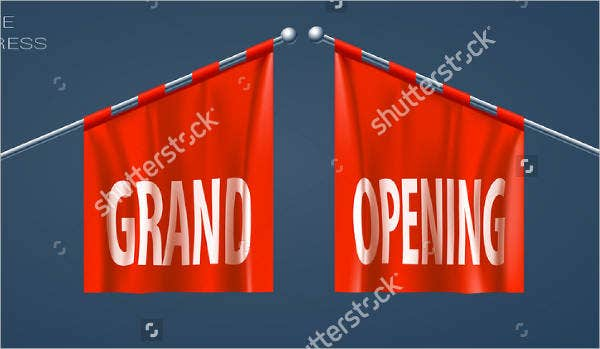 grand opening pennants banner1
