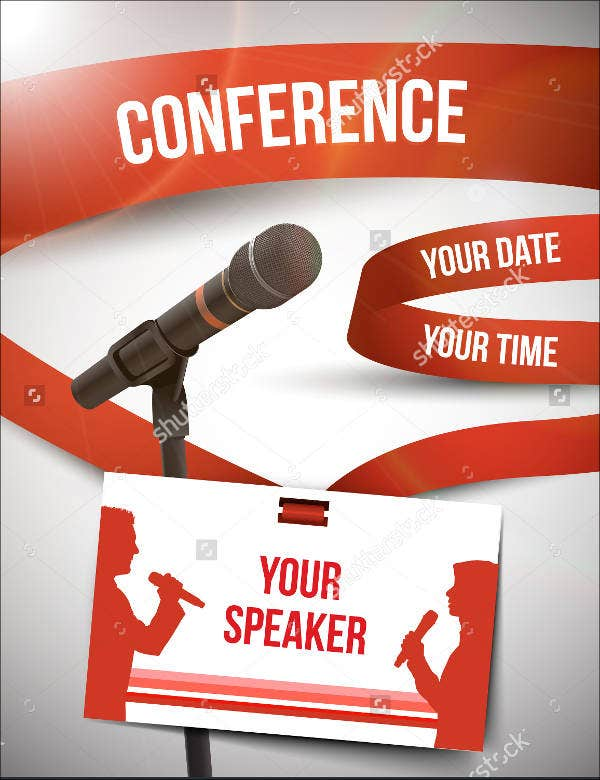 business conference invitation card