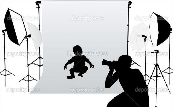 baby photography flash card