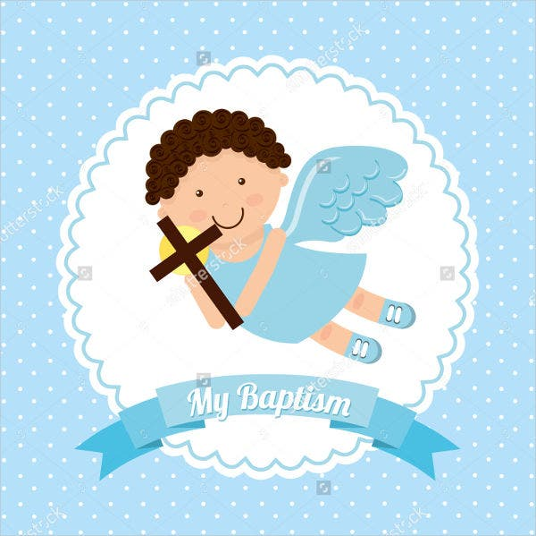 hello kitty baptisim photo invitation1