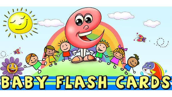 picture relating to Printable Baby Flash Cards referred to as 7+ Kid Flash Playing cards - Totally free Printable Phrase, PDF, PSD, EPS