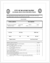 printable-standard-job-application-template