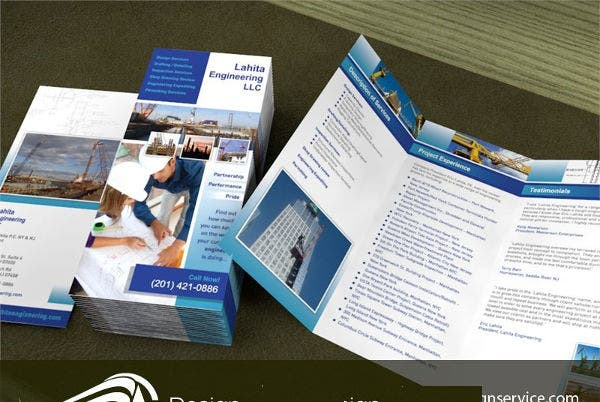 Sample Engineering Company Brochure