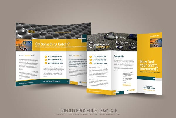 9 engineering company brochures editable psd ai for Engineering brochure templates free download