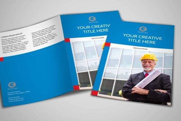 Engineering Company Bifold Brochure
