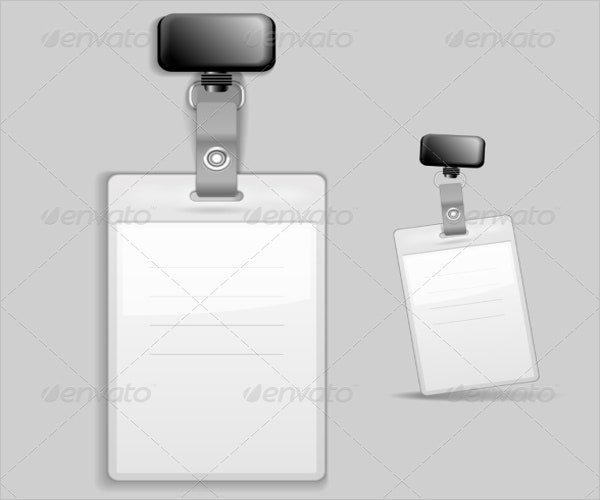 blank id tag template