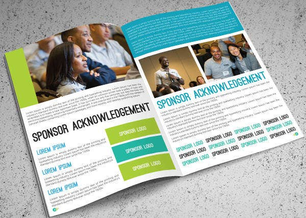 Modern Corporate Training Brochure