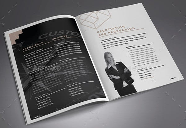 Indesign Corporate Training Brochure