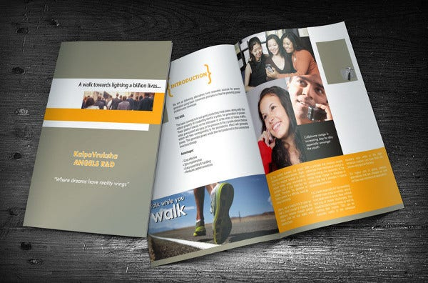 Corporate Training Catalog Brochure