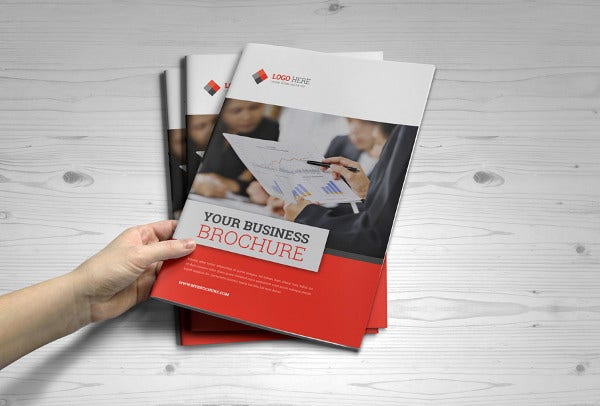 corporate business training brochure