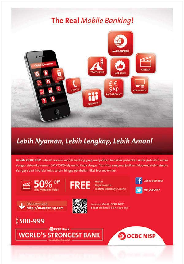 corporate mobile banking brochure