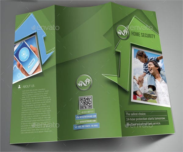 home security system brochure
