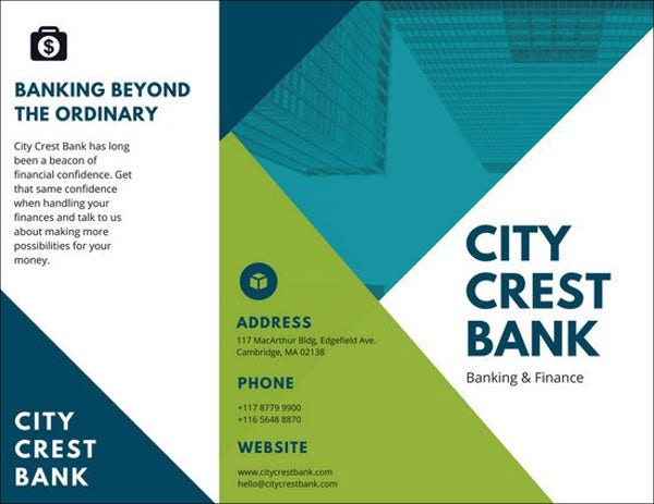 business corporate banking brochure