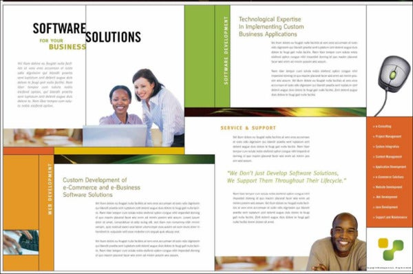 corporate software banking brochure