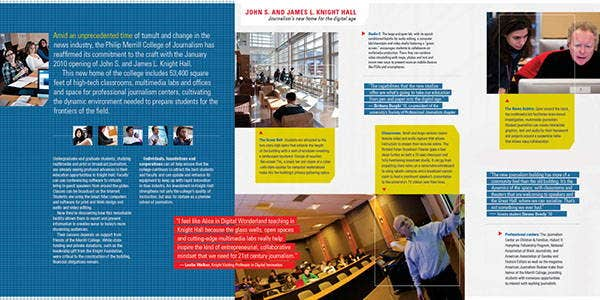 11  corporate fundraising brochures