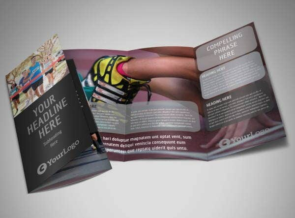 corporate charity fundraising brochure