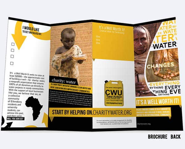 9  corporate fundraising brochures
