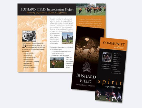 corporate-school-fundraising-brochure