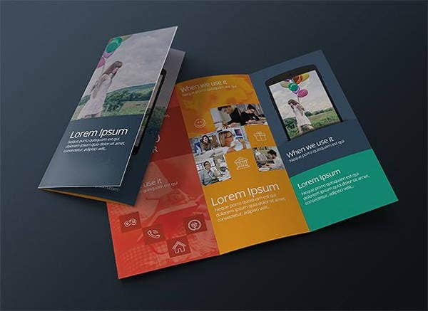 contemporary design company brochure