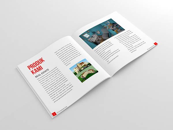design company profile brochure