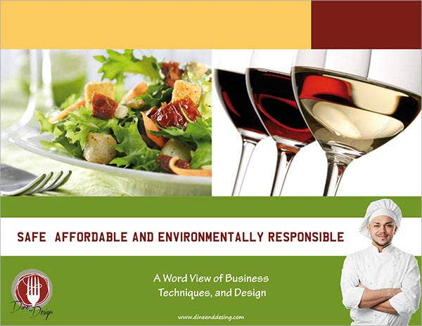 Restaurant Design Company Brochure
