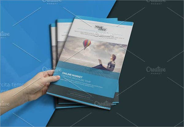 12  corporate business brochures