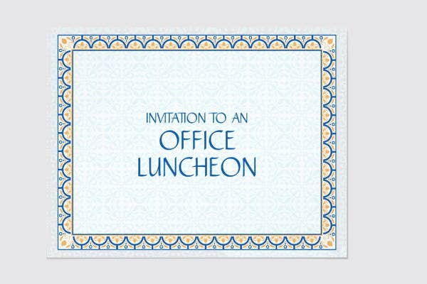 Business Lunch Invitations  Jpg Vector Eps Ai Illustrator