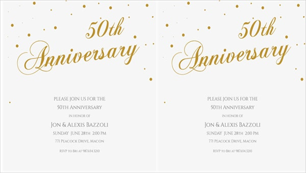 free printable anniversary dinner invitation