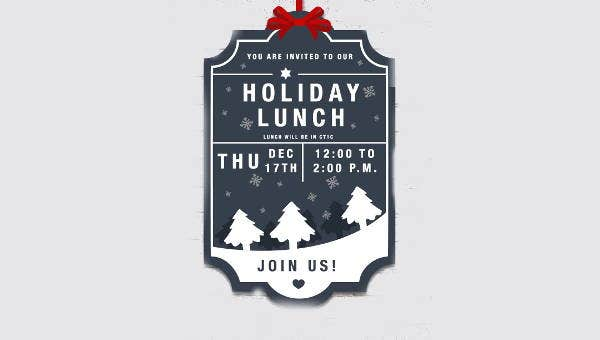 holidaylunchinvitation