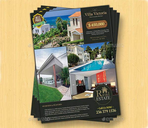12   real estate sale flyers