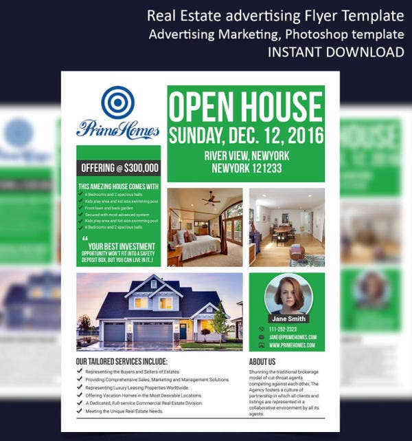 Real Estate Sale Flyers  Editable Psd Ai Vector Eps Format
