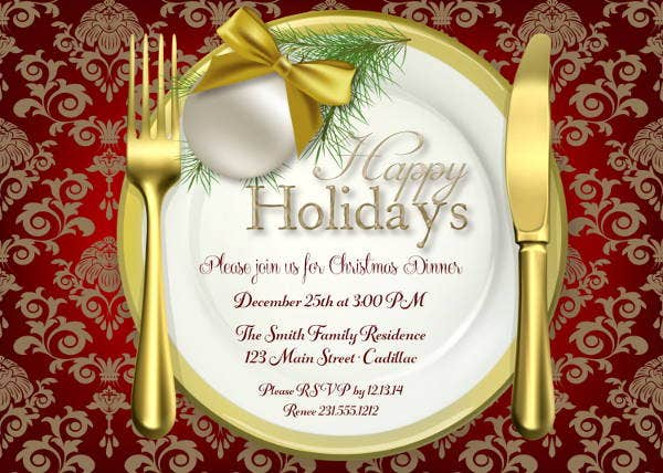 holiday-dinner-invitation-wording
