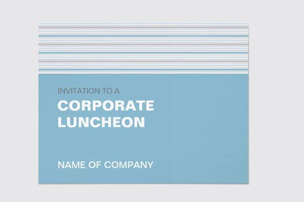 corporate team lunch invitation1