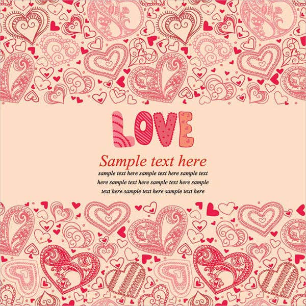 valentines flash invitation card