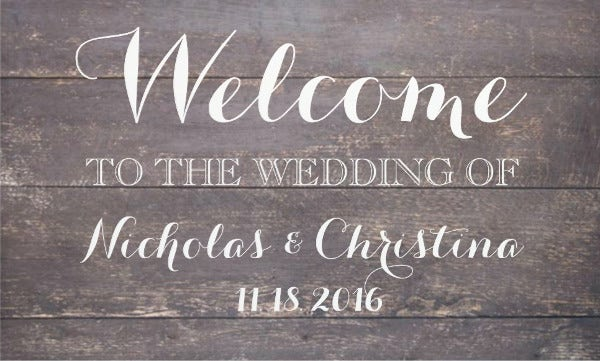 vintage-wedding-welcome-banner