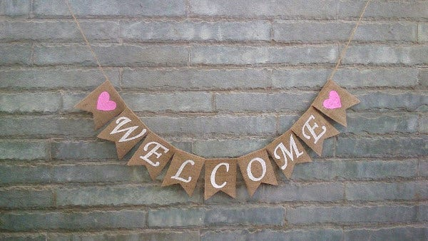 rustic-wedding-welcome-banner