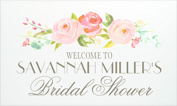 8+ Wedding Welcome Banner Designs & Templates - PSD, AI | Free ...
