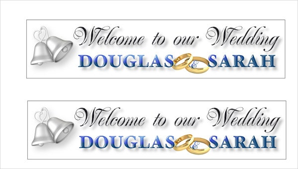 wedding-reception-welcome-banner