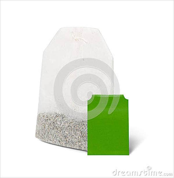 blank tea bag template