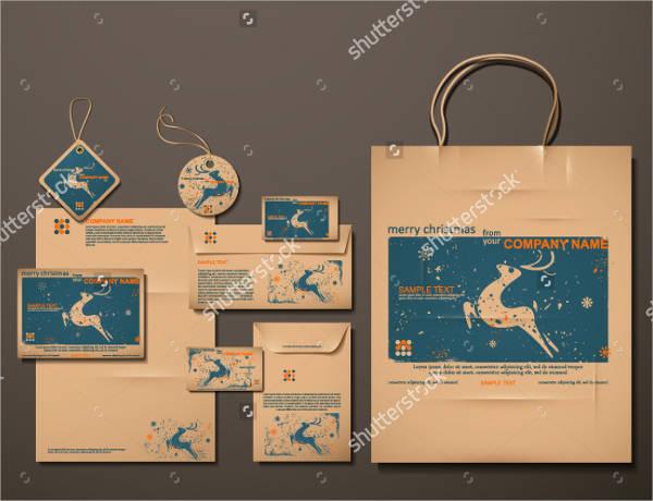 reindeer gift bag template