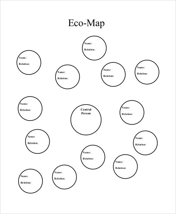 Tree Map Template 6 Free PDF Documents Download – Ecomap Template