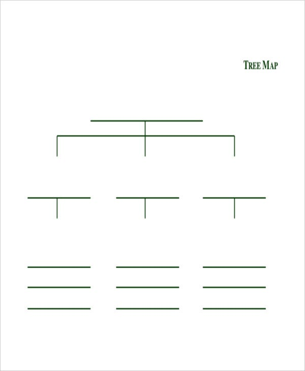Tree Map Template - 6+ Free PDF Documents Download | Free & Premium ...