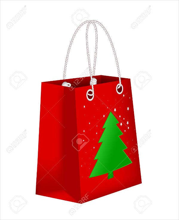Christmas Gift Bag Template
