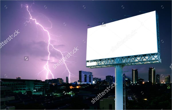 outdoor advertising flash banner