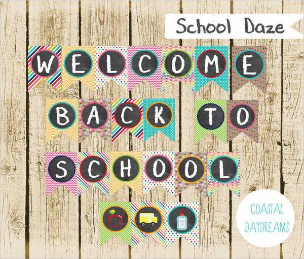 school-welcome-penant-banner