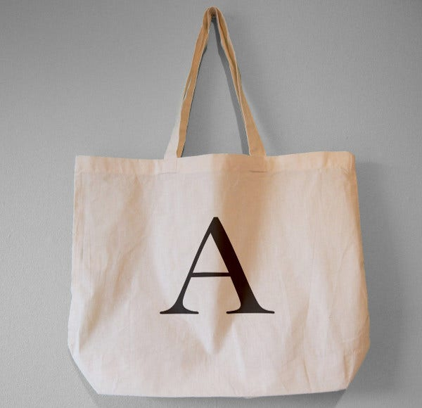 Canvas Tote Bag Template